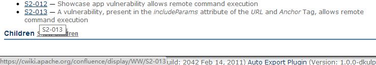 Struts2远程代码执行漏洞分析(S2-013)